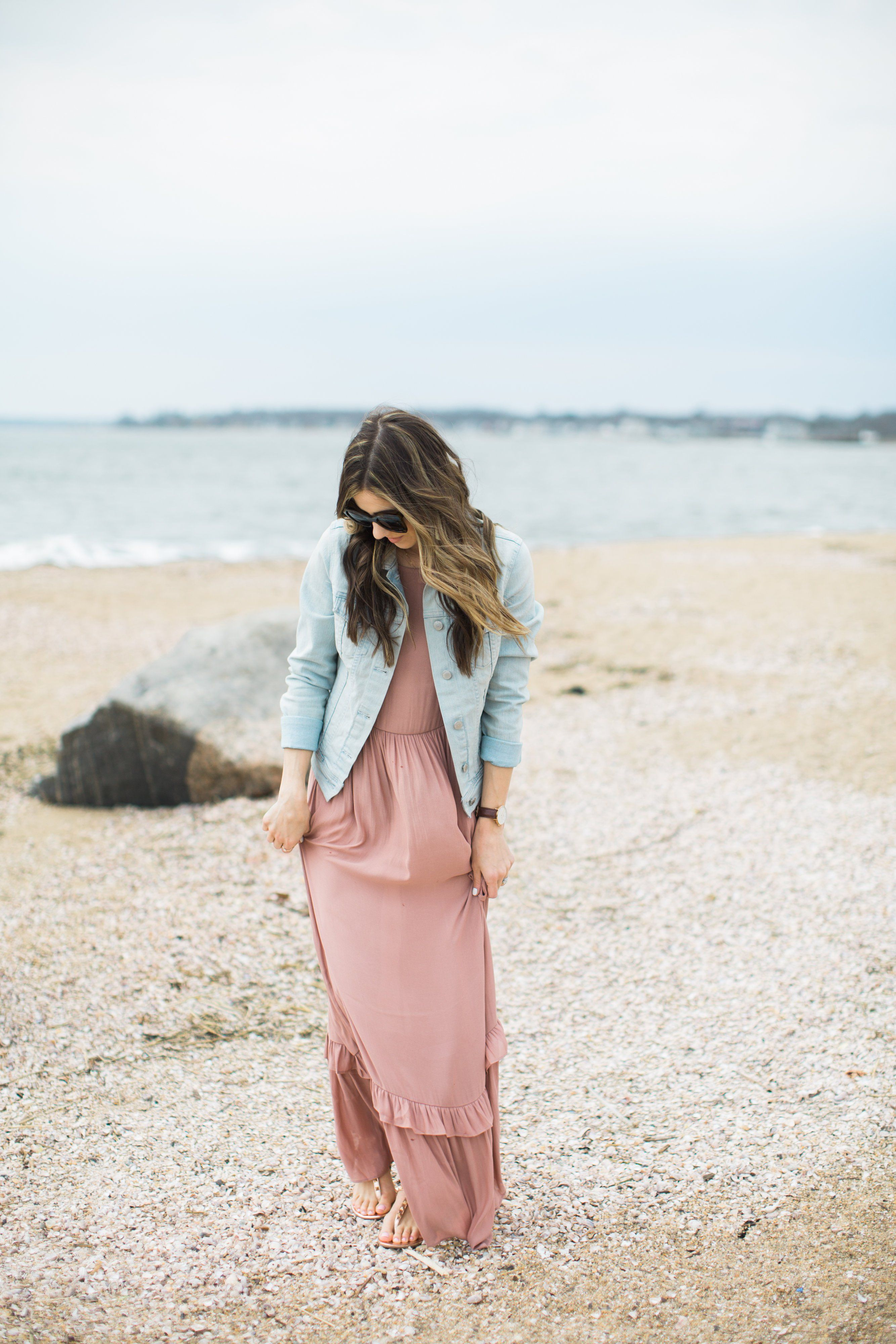 Style ruffled maxi dress and helen ficalora giveaway helen