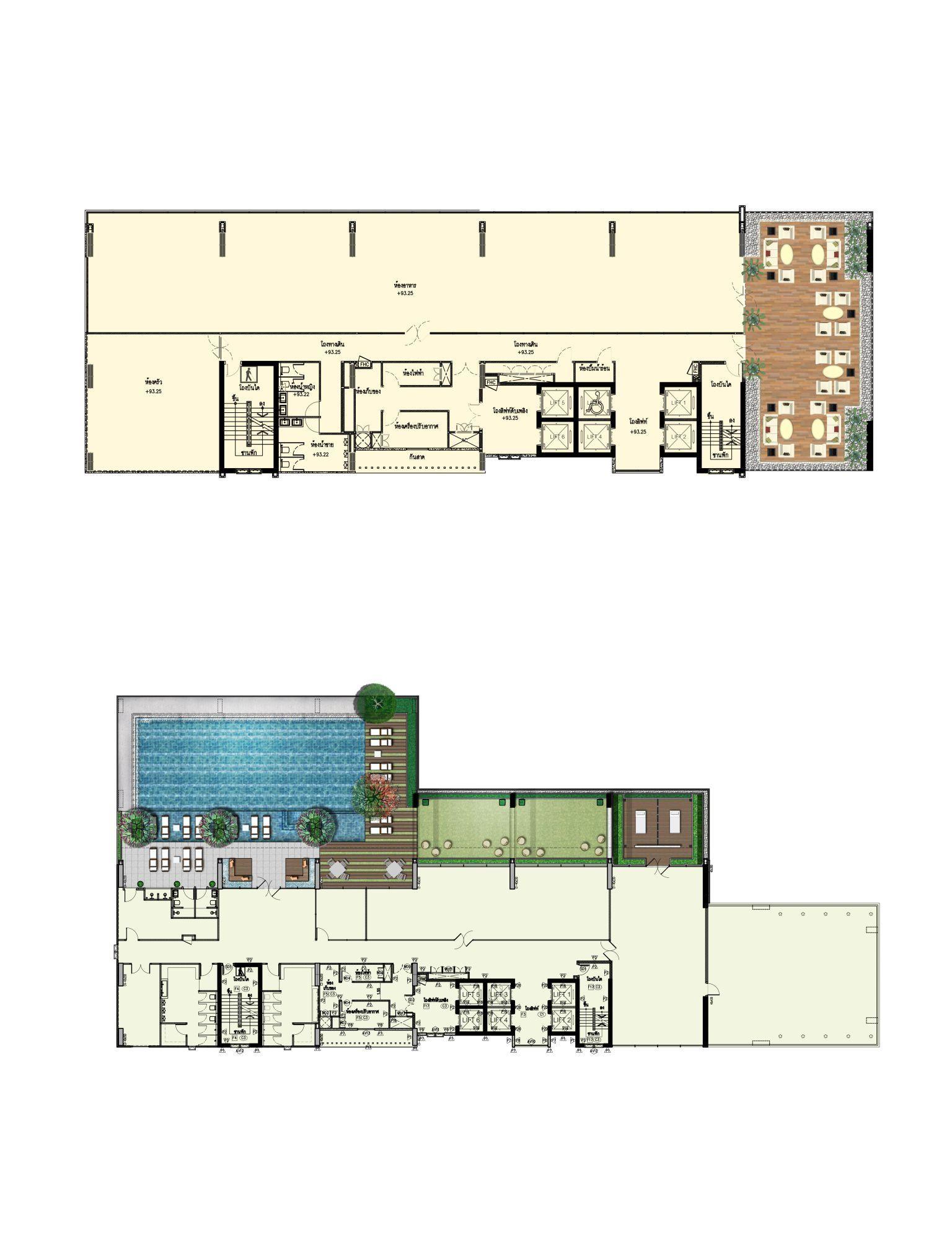 Novotel Sriracha Hotel Plan Roof Garden Plan Hotel Floor