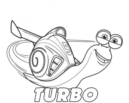 Dibujos disney para colorear turbo  Para Colorear  Pinterest