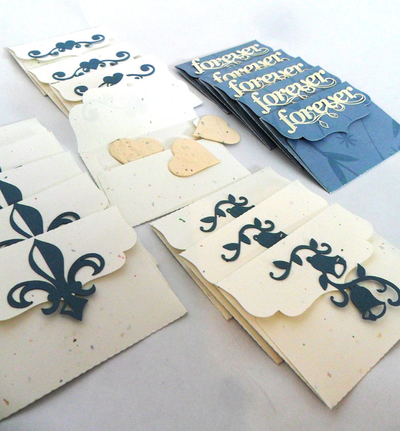Wedding Seed Packets for Guest Favors or Table Seating Wedding ...