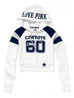 Victoria s Secret Dallas Cowboys Hoodie  666dbe022
