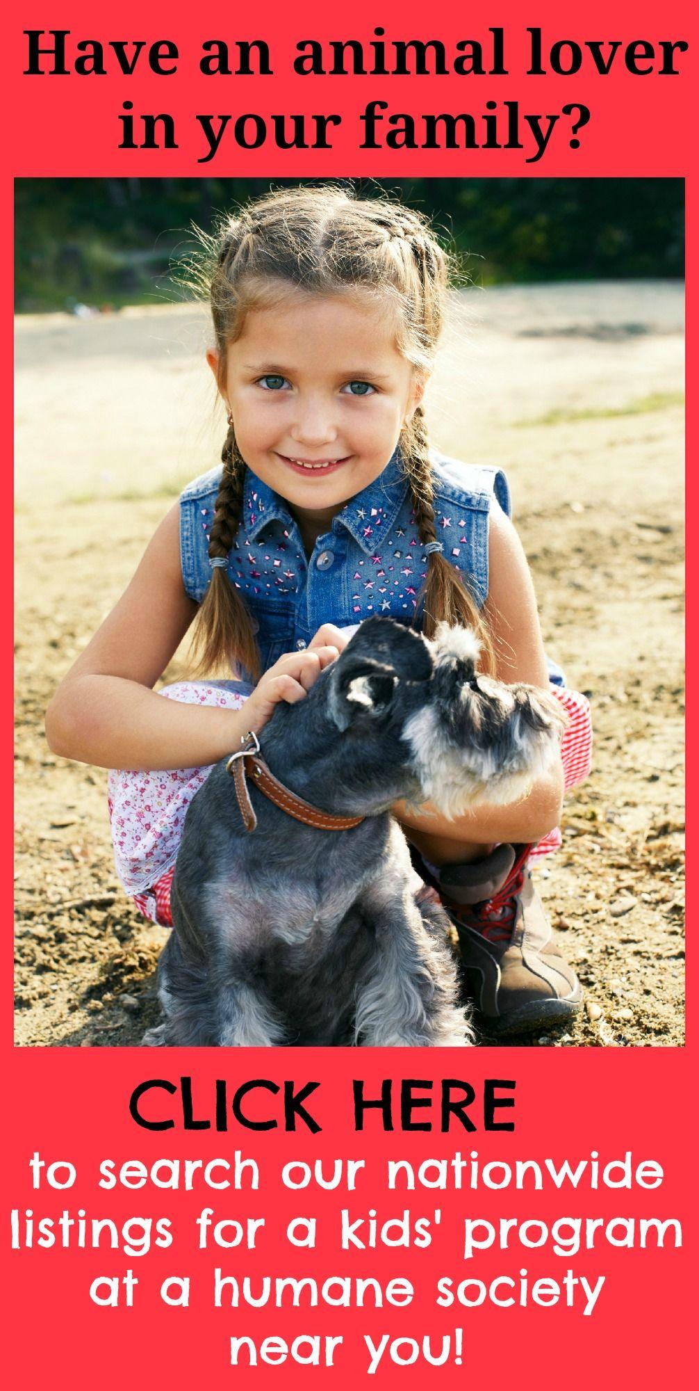 Shelter Programs For Kids Dog Activities Animals For Kids Dog Care