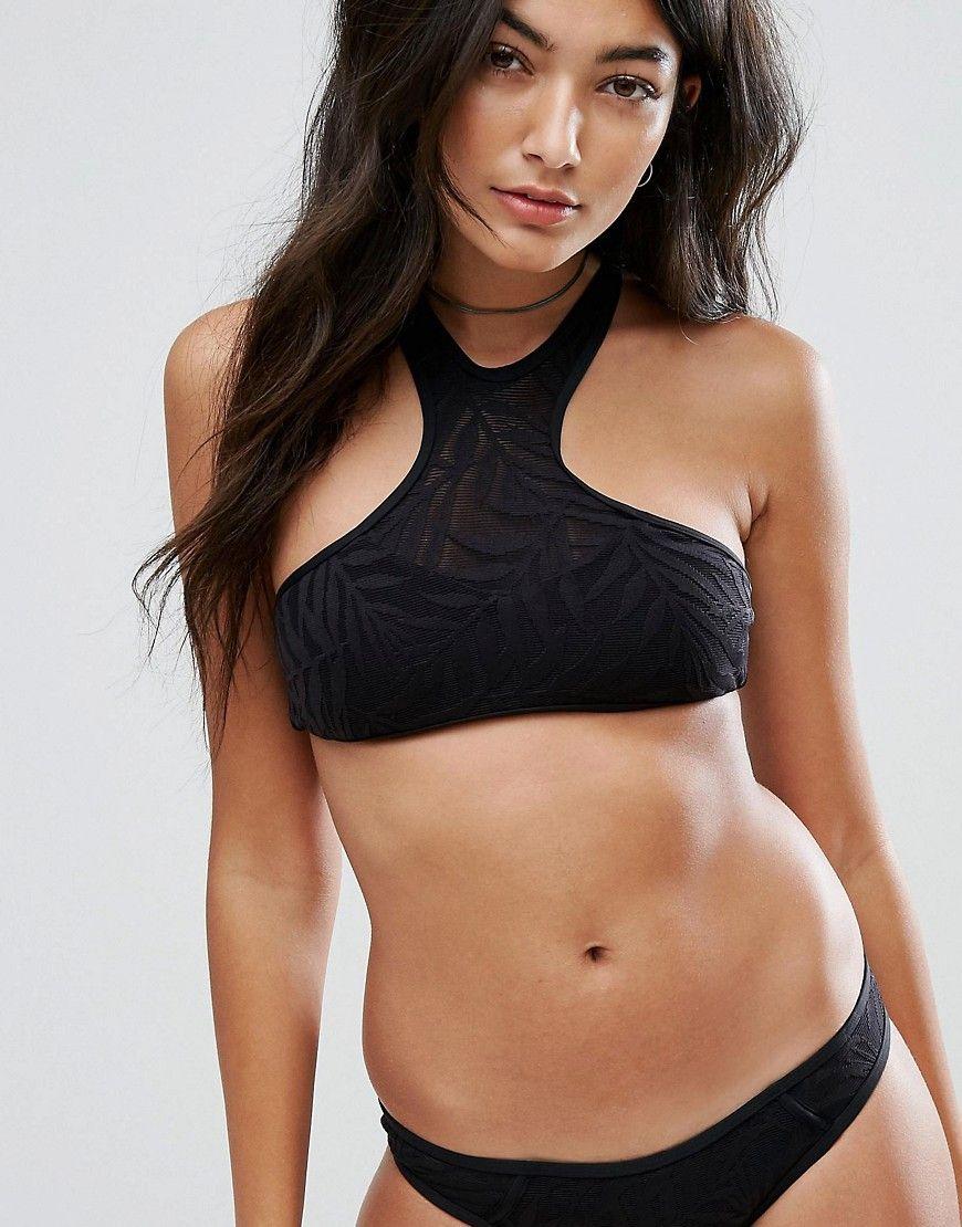 Le Moins Cher Rip Curl Las Palmas High Neck Bikini Top black Bikinis Prix Incroyables Pas Cher En Ligne Dernière Ligne Vente Prix Incroyable aONnWN