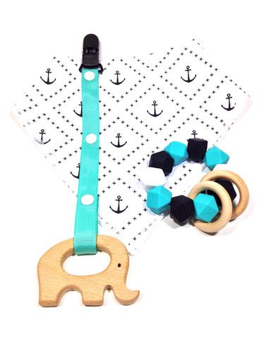 Anchor Baby Teething Gift Set