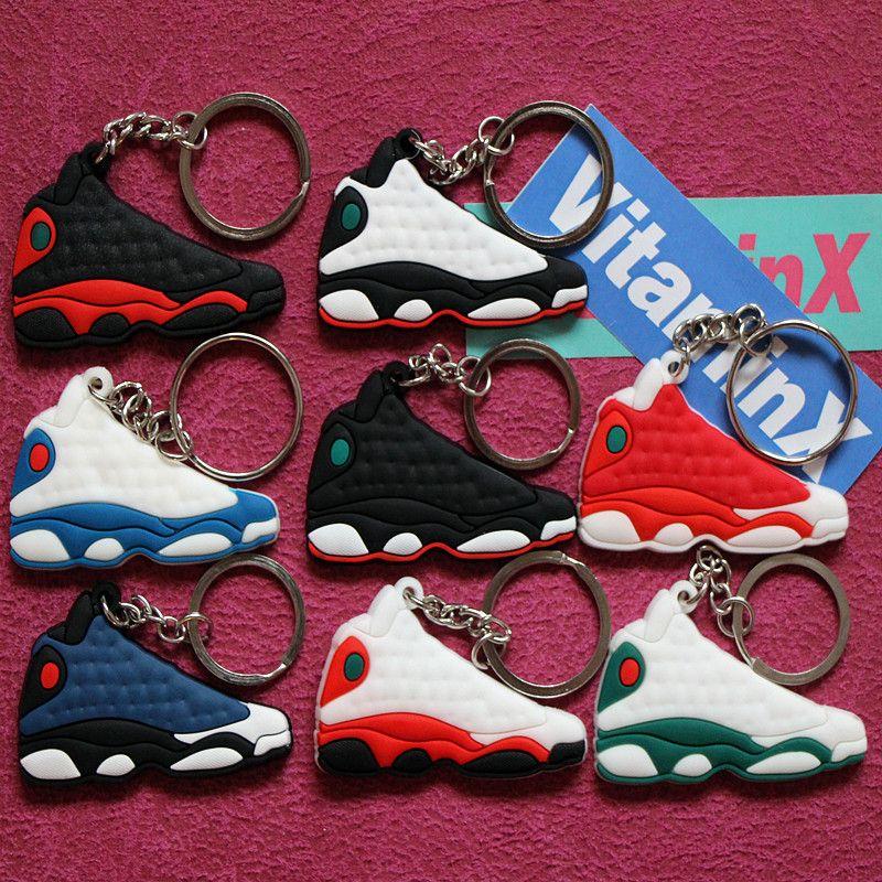 ada9a212f53201 Air Jordan Retro 13 KeyChain (8 Colors)