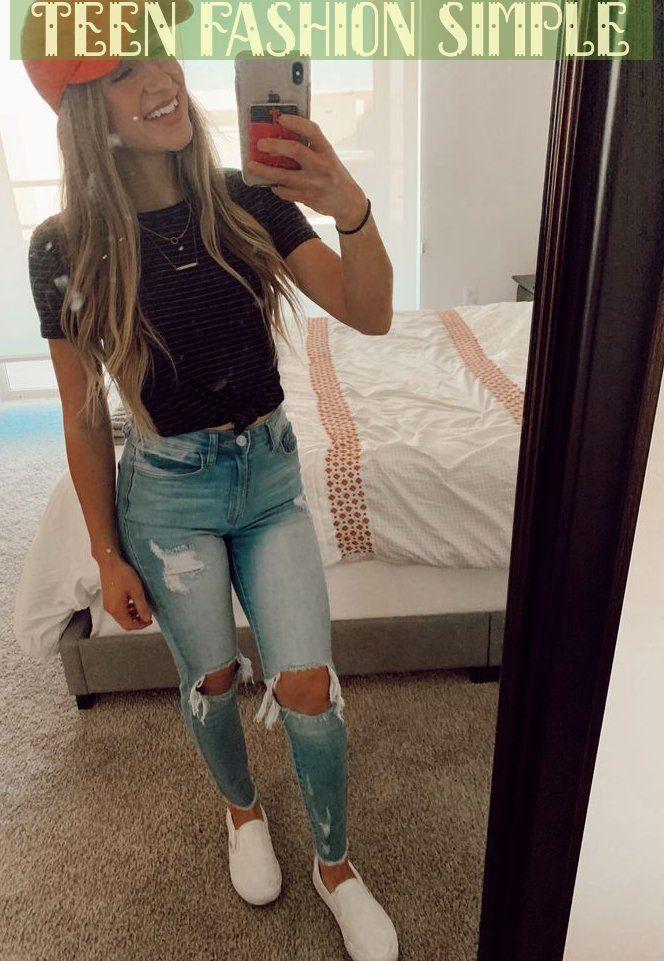teen fashion simple
