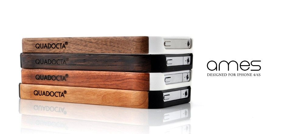 An Ames case and the iPhone 4/4S – an exciting contrast between a natural, traditional and sustainably sourced material, and pioneering technology in a modern design. Yet that is not all; the Ames cases offer excellent protection from dirt, scratches and wear for your iPhone 4/4S, while providing full access to all functional elements.