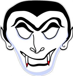 Vampire Crafts With Images Printable Halloween Masks