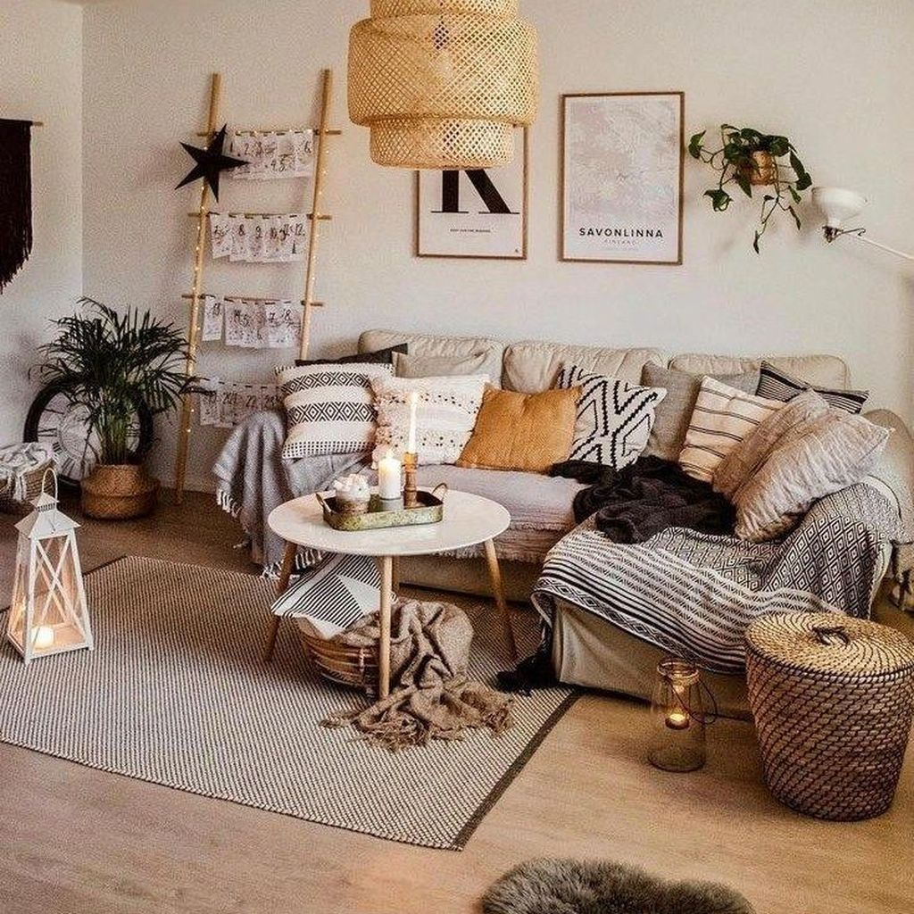 Modern White Rustic Living Room Style Home Living Room House Interior