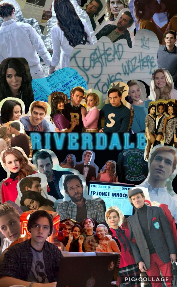 Original Riverdale Collage made by me Gabby D. Includes