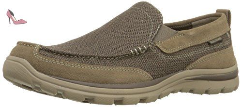 Skechers Superior Milford, Sneakers basses homme, Marron