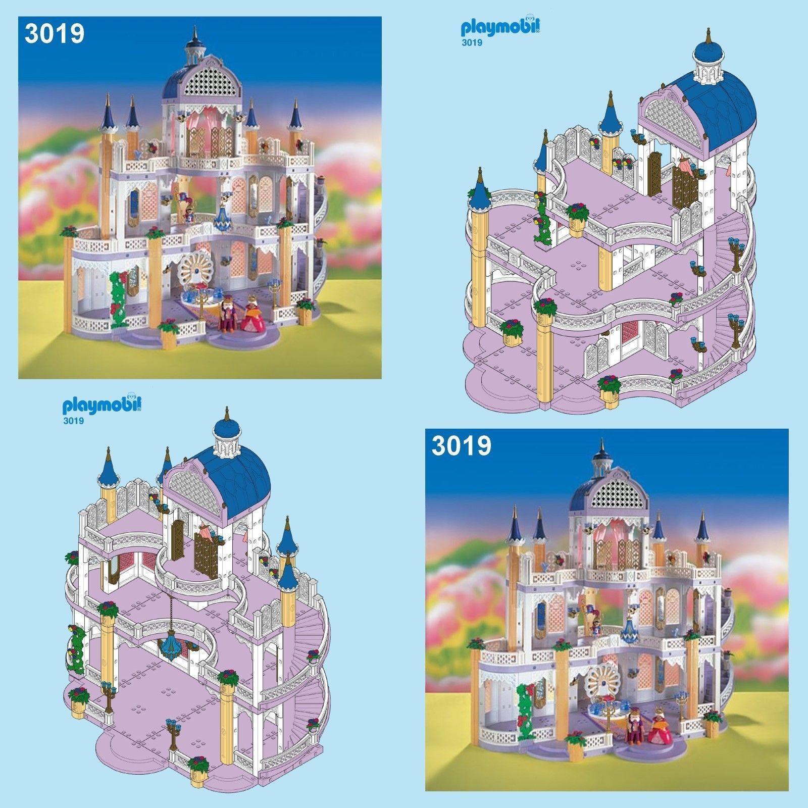 Playmobil Princess Castle 3019 3020 3098 Spares Spare Parts Service Playmobil Princess Castle Princess Castle Castle