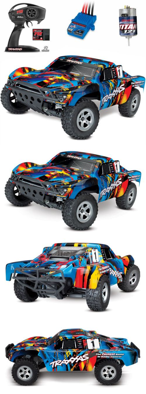 Cars Trucks and Motorcycles 182183 Traxxas 58024 1 10