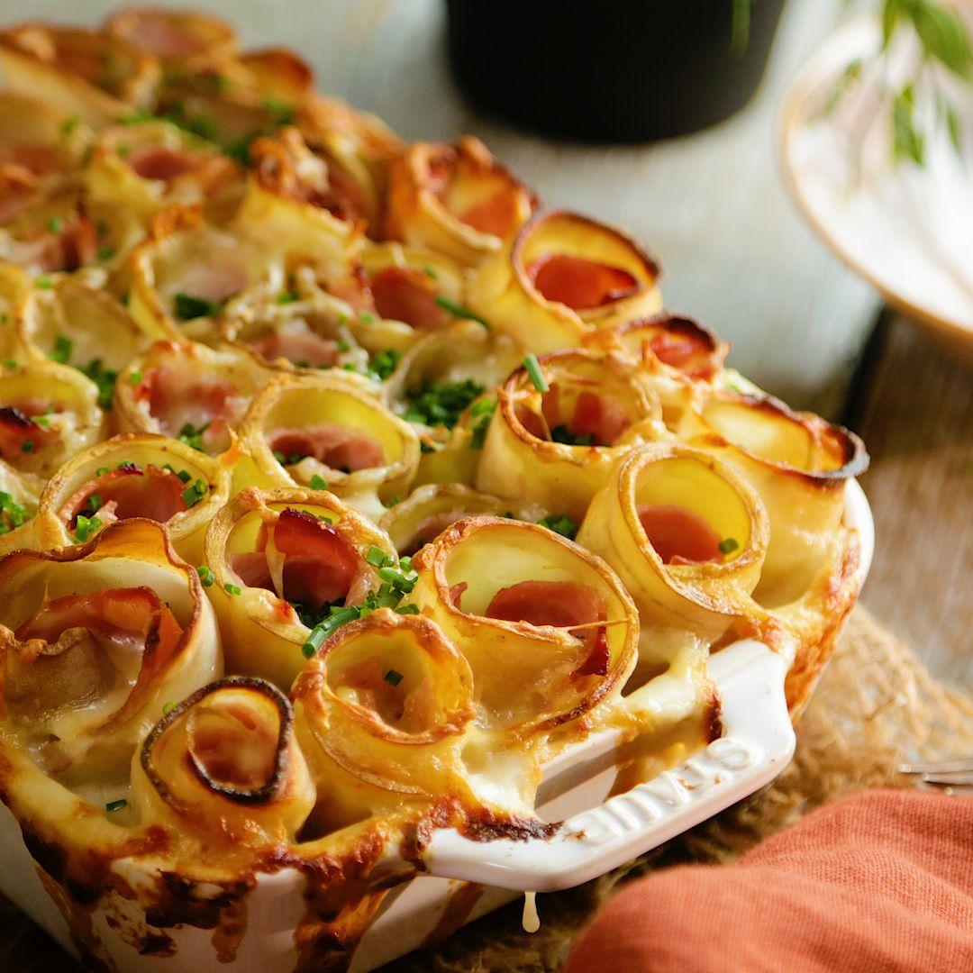 Potato Roll Casserole
