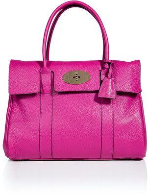 7481978ada MULBERRY Hot Fuchsia Bayswater Bag - Polyvore | Love handbags | Bags ...
