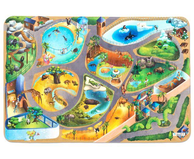 Zoo-Teppich - super soft-1   Kids - Room   Pinterest   Zoos, Kids ...