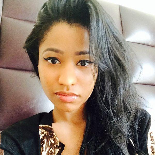 Natural hair Nicki Minaj real hair images http://www.shorthaircutsforblackwomen.com/teaching-black-women-to-embrace-their-own-hair/