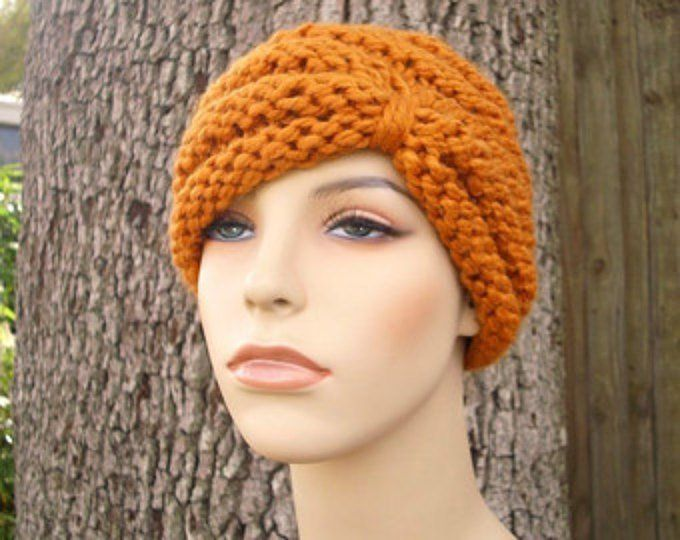 Knitting Pattern Turban Hat | Puntadas de ganchillo