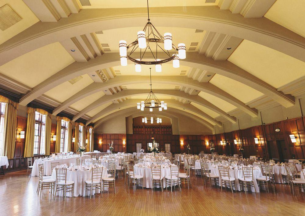 Michigan League Ballroom Reception Venue Ballrooms Wedding