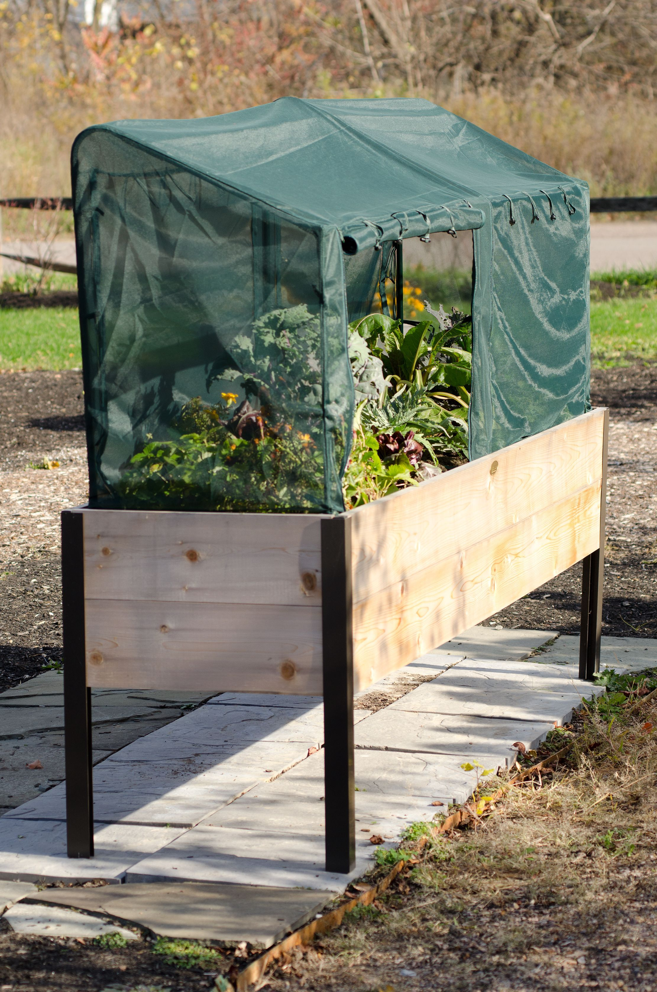 Protect Plants with Frame + Warming & Pest Control Covers