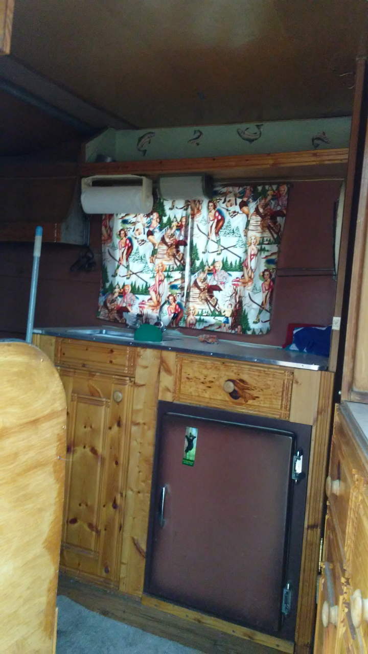 Vintage Camper Trailers 1962 Caveman 10 Ft New Paint Trailer Wiring Icebox Porta Potty Full Size Mattress Stove And Oven