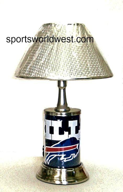 Buffalo Bills lamp • Lamp comes in retail window display box • UL ...