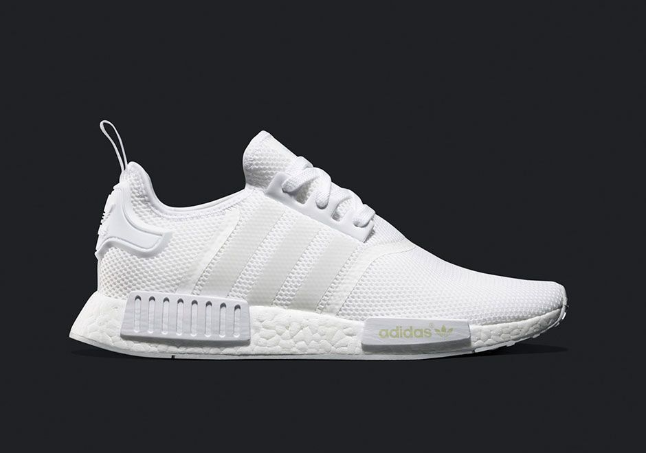 Adidas To Release Triple White Nmd This Saturday Sneakernews Com Adidas Nmd Runner Adidas Nmd R1 White Adidas Nmd Triple White
