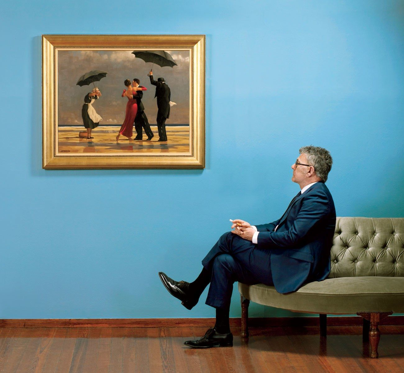 Critics say Jack Vettriano paints brainless erotica. But ever since Vettriano's…