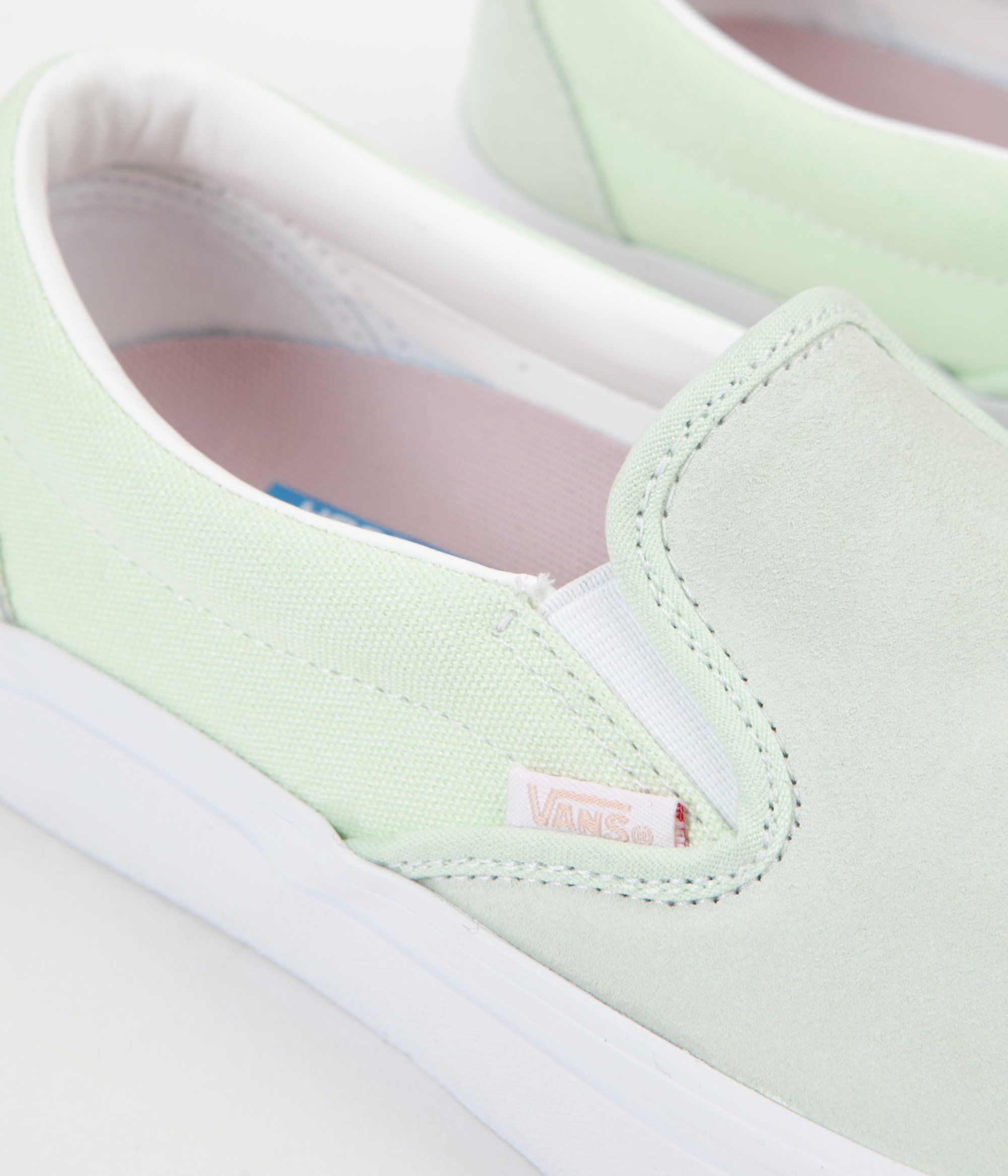 Vans Slip On Pro Shoes Ambrosia White | dhiraaa's pins