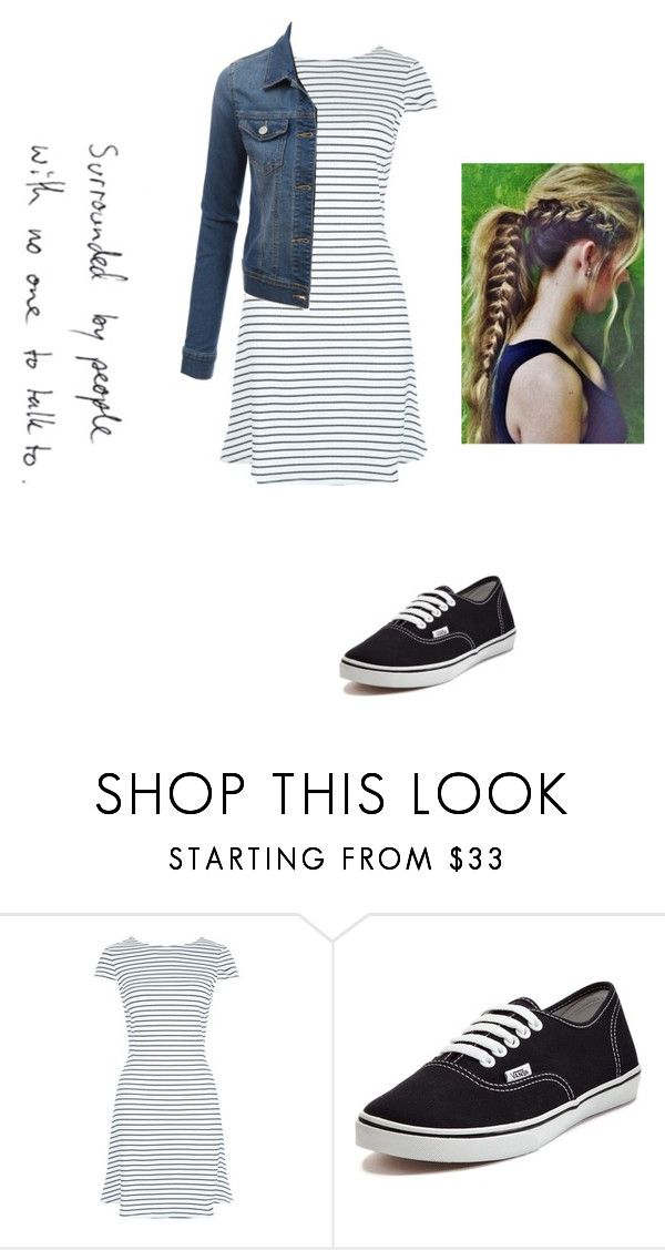 """Untitled #98"" by janie2022 ❤ liked on Polyvore featuring Vans and LE3NO"