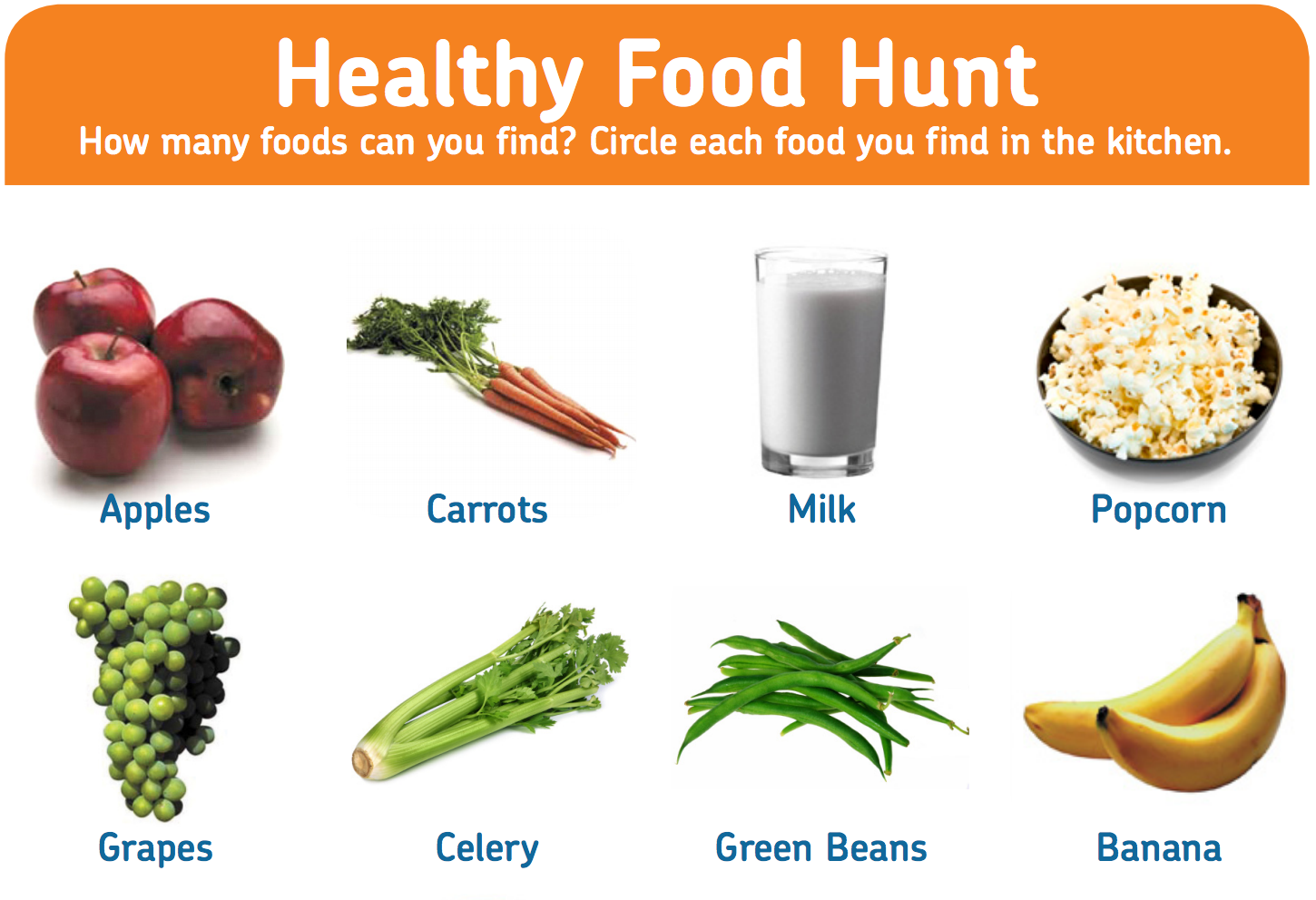 Teach Your Students Which Foods Are Healthy With This Fun