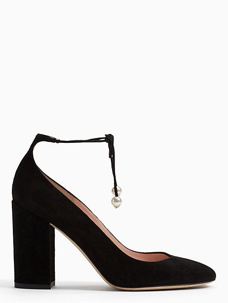 caf136f7b9 Kate Spade Gena Heels, Black - Size 7.5 | Products in 2019 | Heels ...
