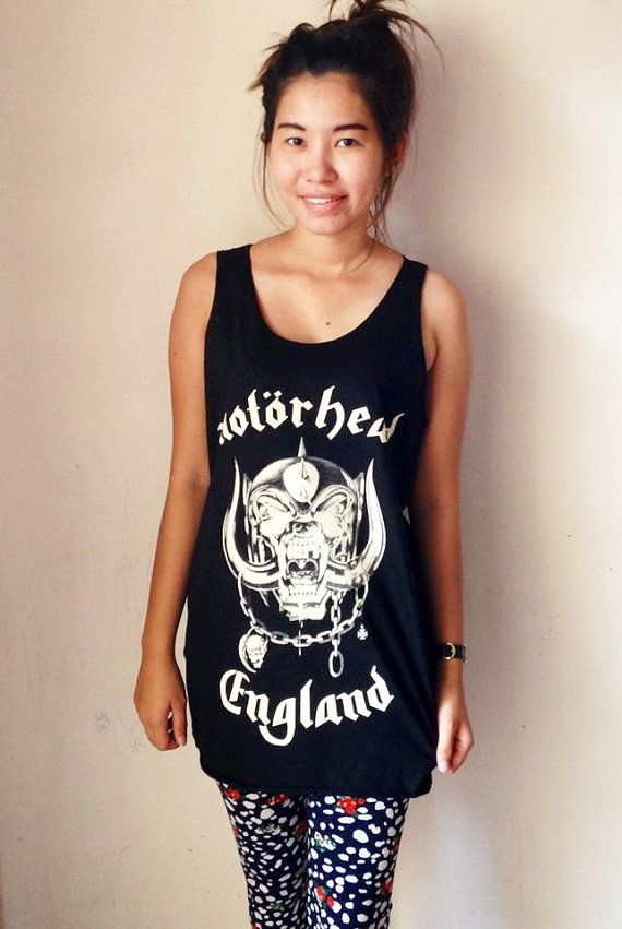 3de1516894d16 Motorhead Heavy Metal Hard Rock Black indie punk rock band Music Tank top  Sleeveless Tee Shirts
