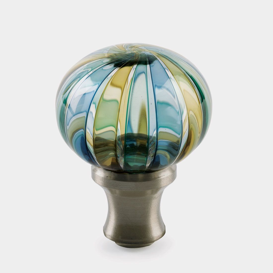 Door knob sold as a glass globe affixed to a metal shank; remaining hardware must & Door knob sold as a glass globe affixed to a metal shank; remaining ...