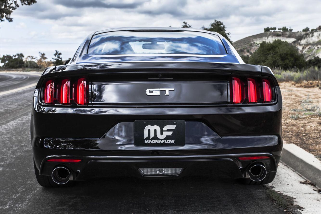 2015 Mustang GT with Magnaflow