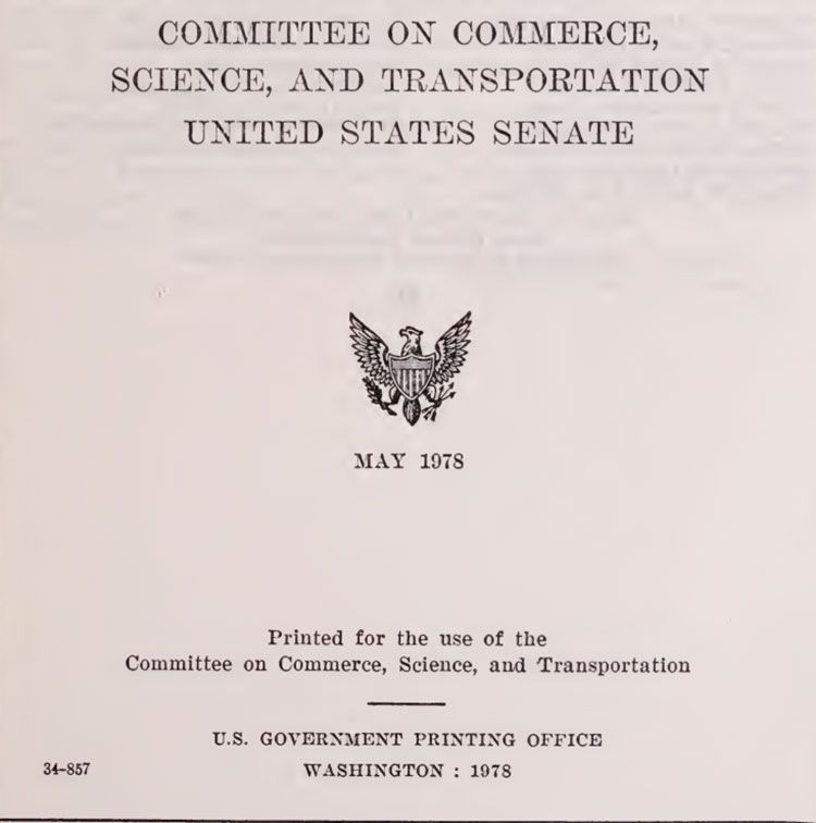 Massive U.S. Senate Document on National and Global Weather Modification