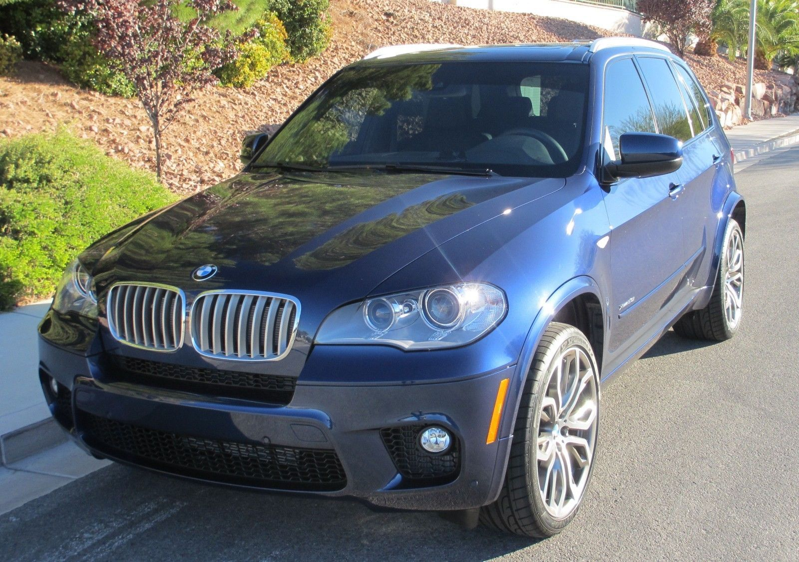 2013 Bmw X5 M Sport Package 2013 Bmw X5 Xdrive50i Blue Upgraded