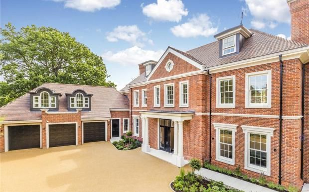 7 bedroom detached house for sale in Coombe Hill Road, Kingston upon ...