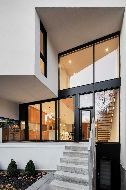 Modern family home rear facade design | Home Design | Pinterest ...