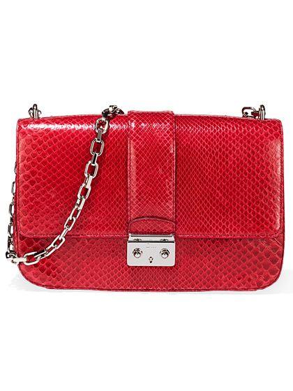 LUST: Dior python bag, $6,200