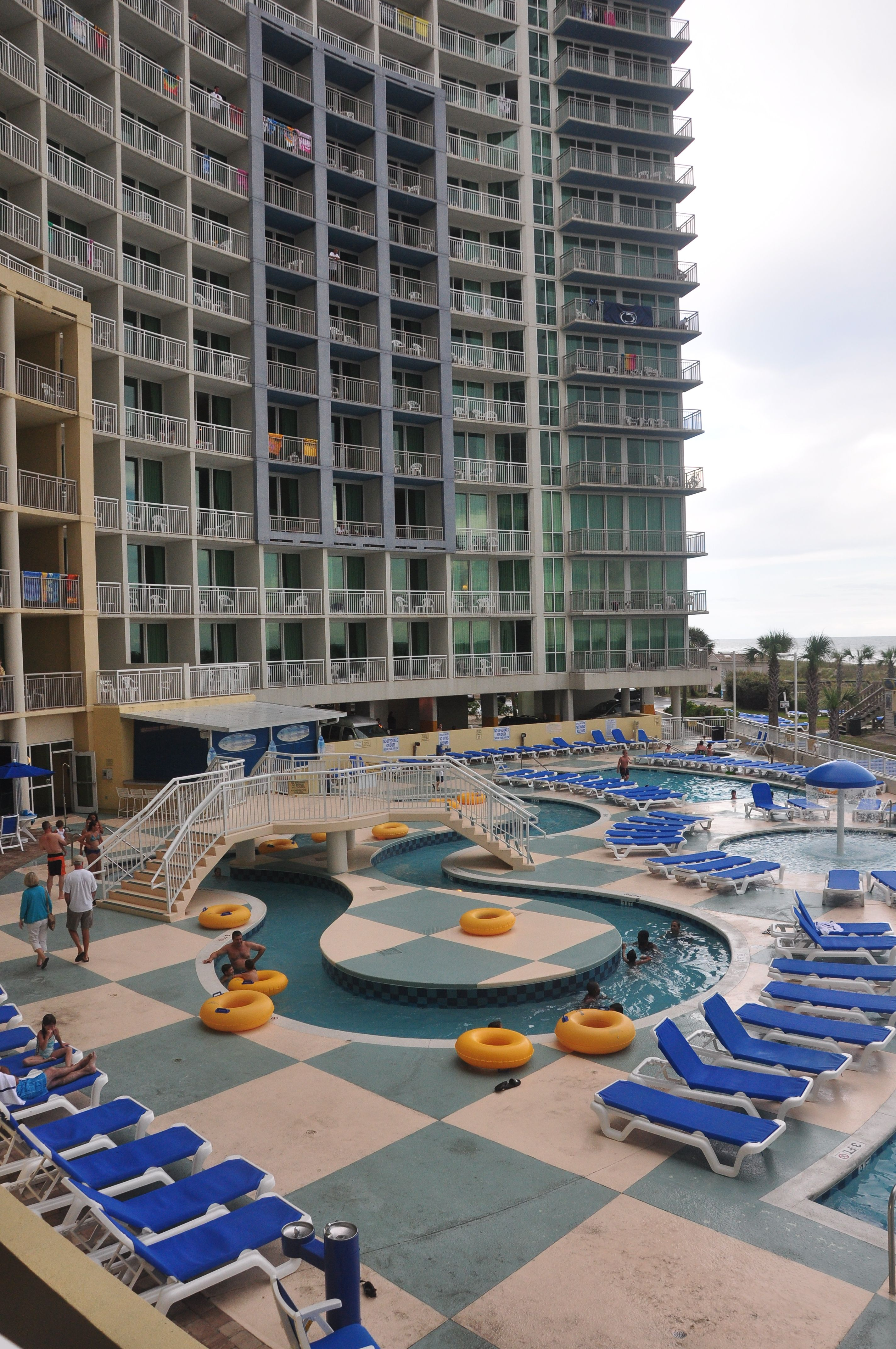 The Pool Deck At Our North Myrtle Beach Resort Is Fun For