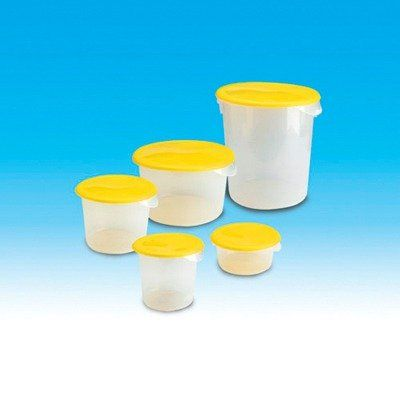 Rubbermaid Commercial Products RCP 572624 CLE 12 Quart Round Storage