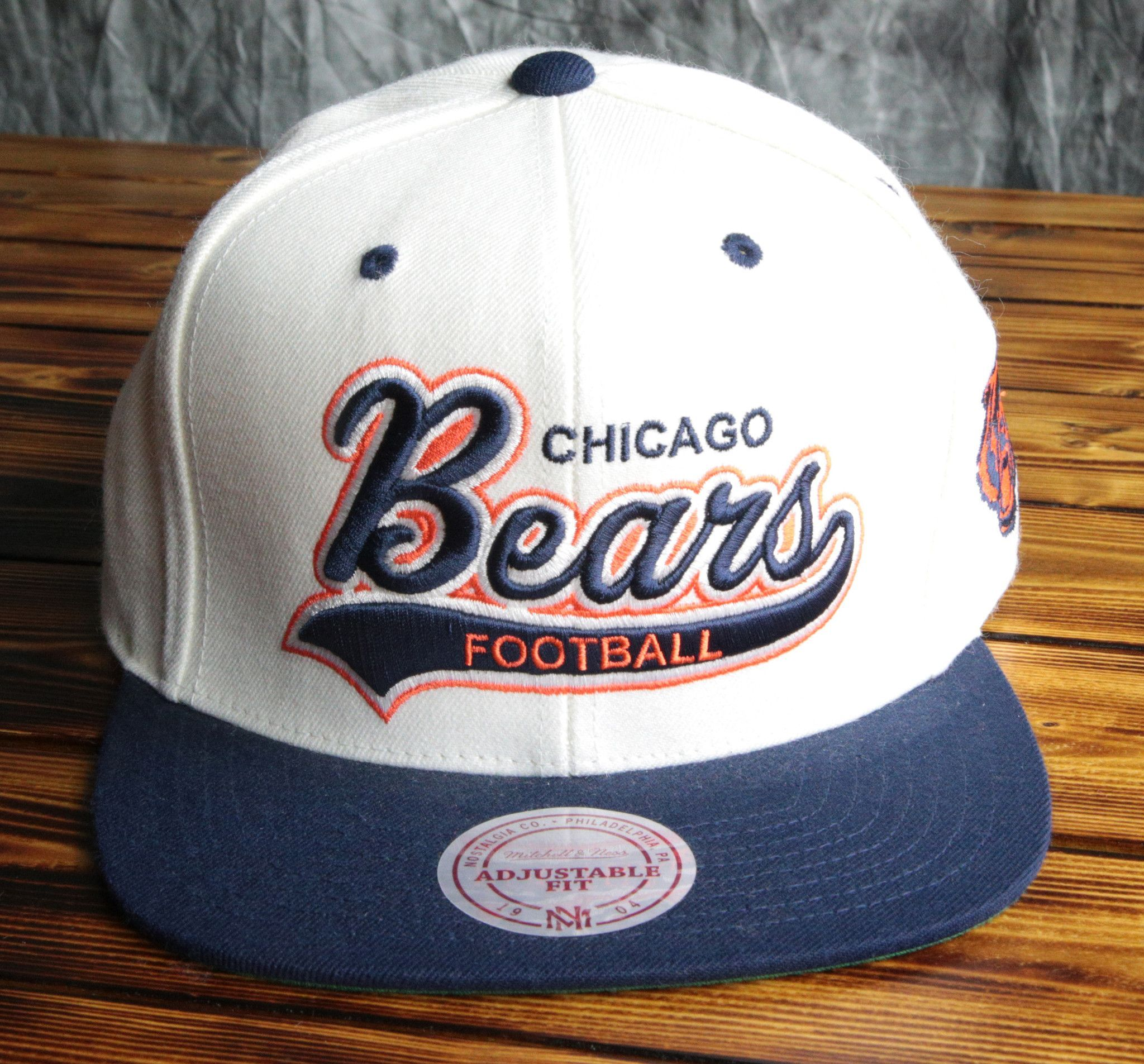 Chicago Bears Mitchell & Ness STA3 Structured Snapback