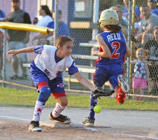 Little League District 24 All Star 10s Softball Mid Island Takes On South Shore Little League League All Star