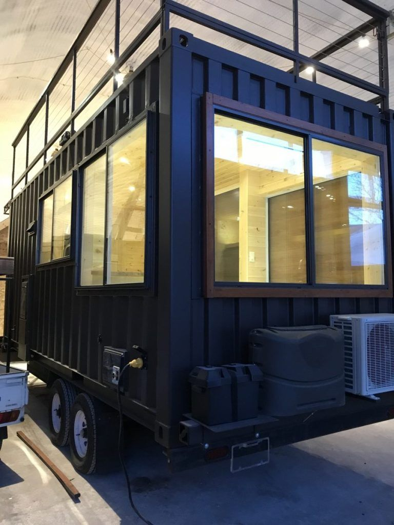 Vista C Shipping Container Tiny House From Escape Tiny