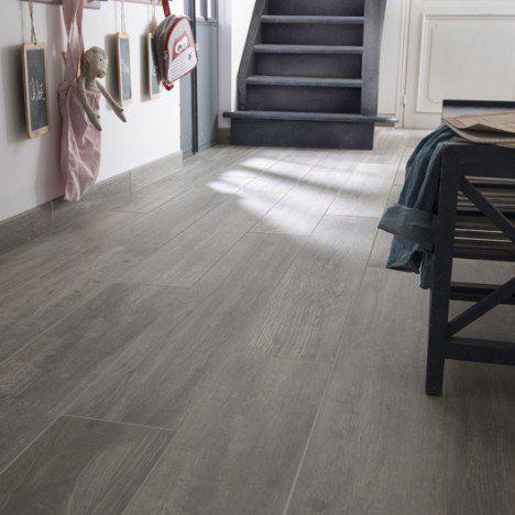 carrelage sol et mur gris effet bois way x cm carrelage et parquet pinterest. Black Bedroom Furniture Sets. Home Design Ideas