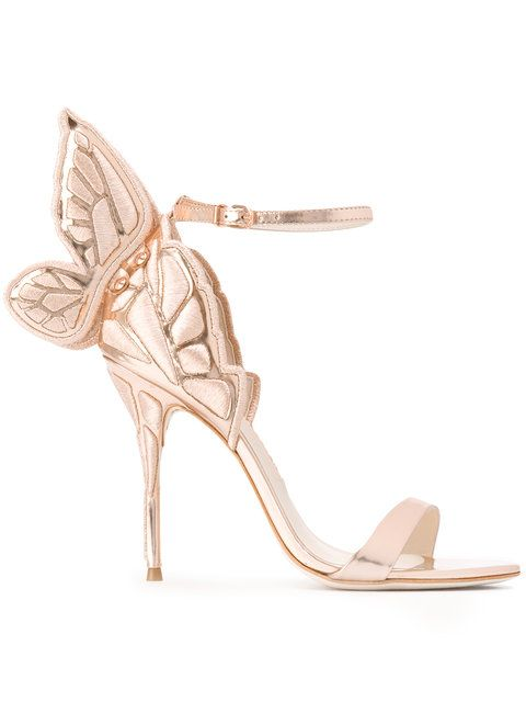 eab021af333 Shop Sophia Webster butterfly heel sandals