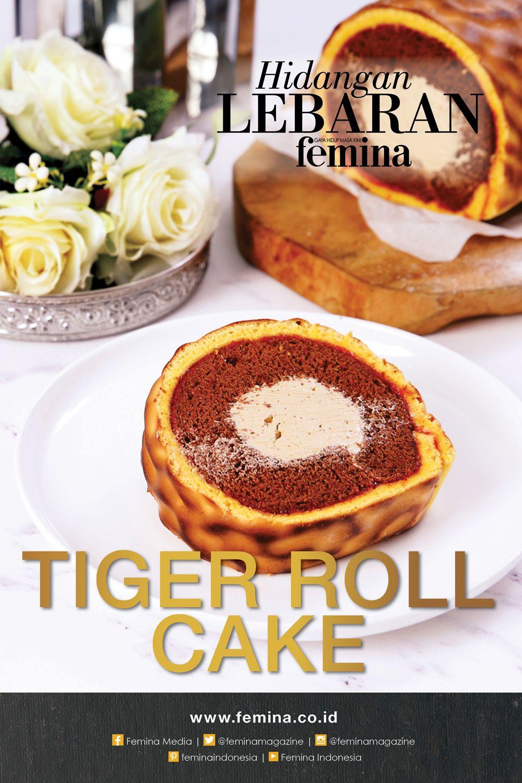 Resep Tiger Roll Cake Resep Masakan Kue