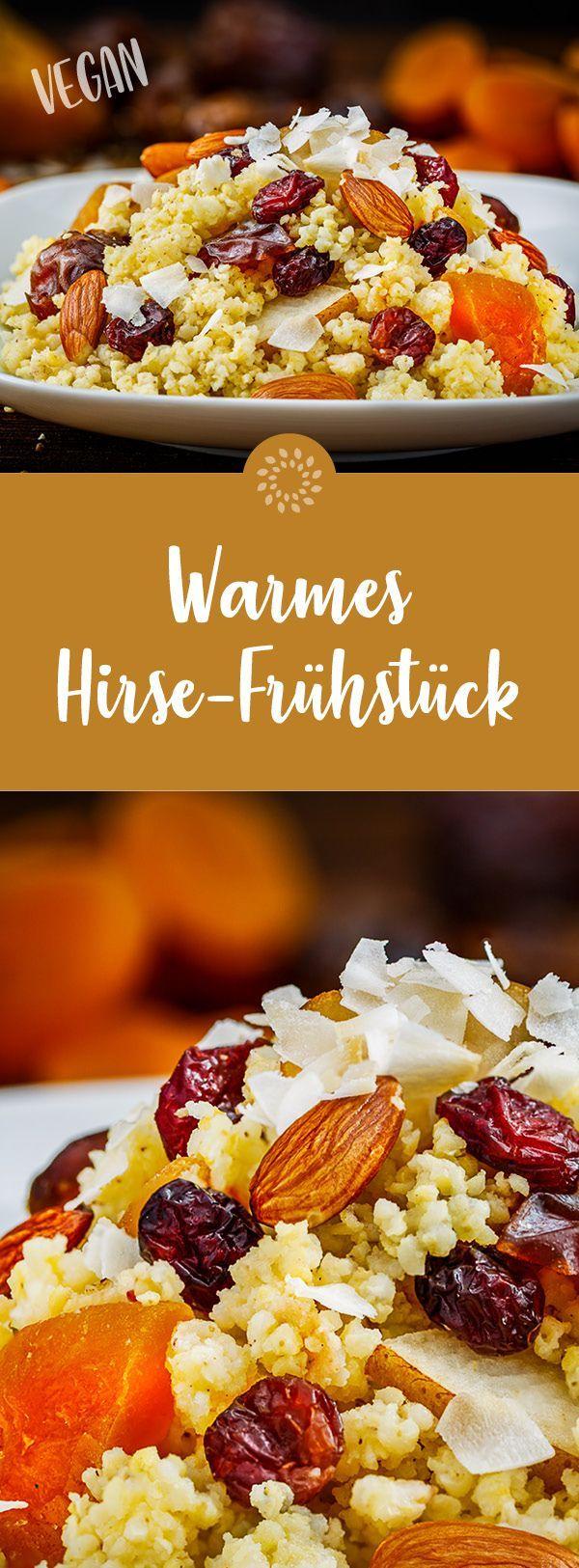Warmes Hirse-Frühstück – vegan und basenüberschüssig – Carey&CleanEatingS
