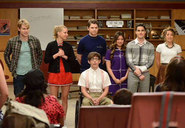 "The New Directions Sing in the Glee Season 3 Finale, Episode 22: ""Goodbye"""